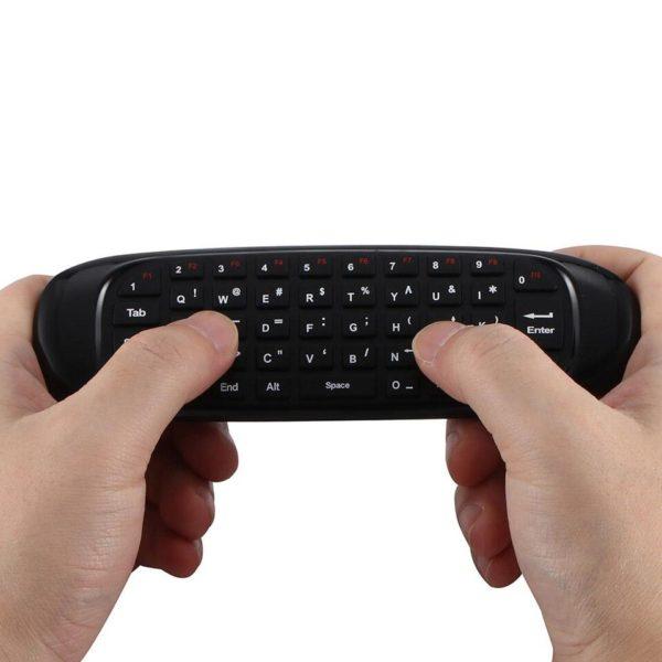 Controle Remoto com Mini Teclado Universal Para Smart TV C120