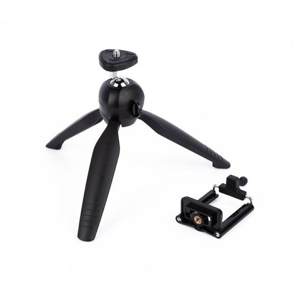 Mini Tripé Celular e Câmeras Fotográficas Profissionais Yunteng Yt-288