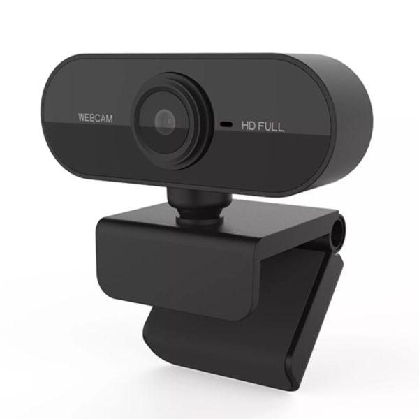 Webcam Full Hd 1080 Usb Mini Visão 360º C/ Microfone Live